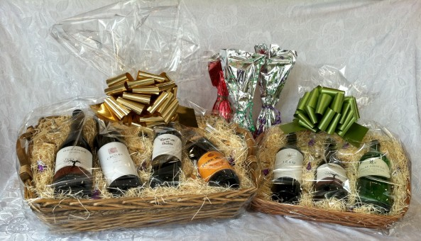 UnCorked baskets and wraps