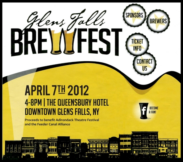 Glens Falls BrewFest - April 7, 2012