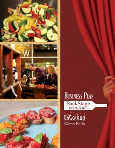 Business Plan Front Cover